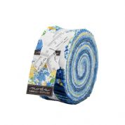 "Summer Breeze - Jelly Roll by Moda Fabrics - 40 x 2.5"" Fabric Strips"